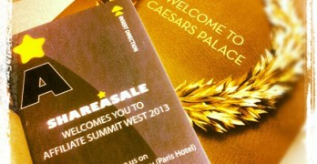 Affiliate Summit West 13 Here We Go