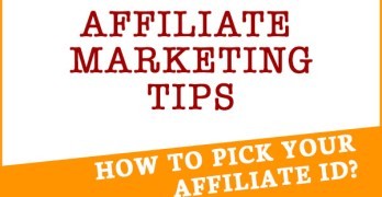 Affiliate Setup Tip: How to Pick your Affiliate ID.