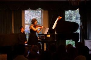 Hilary Hahn and Cory Smythe