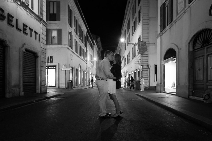Marriage Proposal - Rome