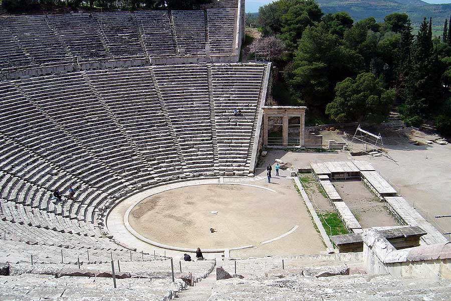 The Theater of Epidaurus