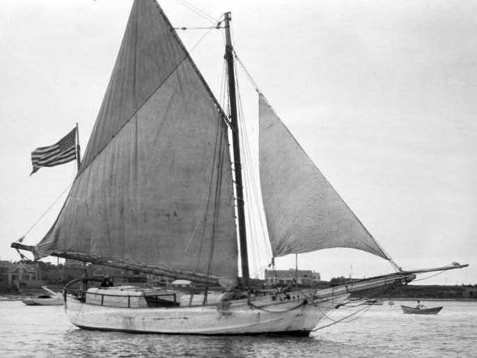The Spray was a 36-foot-9-inch oyster sloop