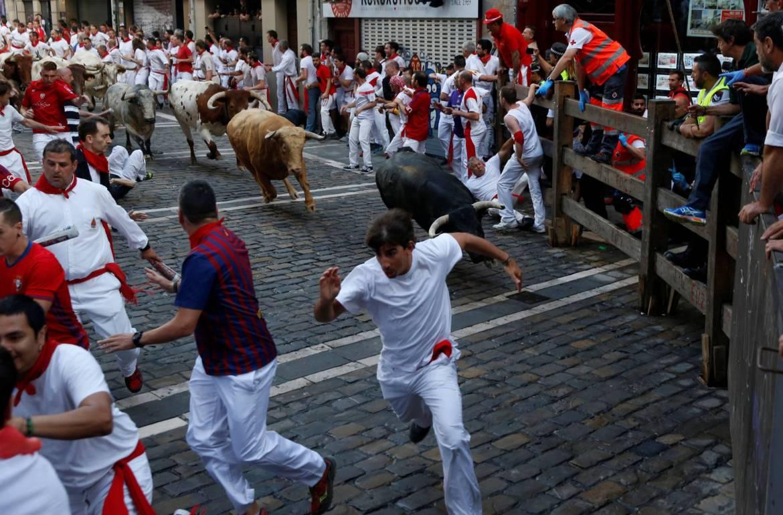 San Fermin Festival - The Running of the Bulls