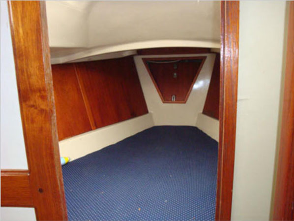 V-Berth of the 1979 Irwin 30 Competition
