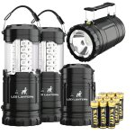 2-IN-1 LED Camping Lantern & Flashlight