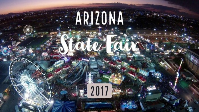 Arizona State Fair 2017 | Oct 6th - 29th | Phoenix, AZ