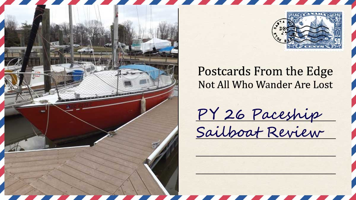 PY 26 Paceship Sailboat Review