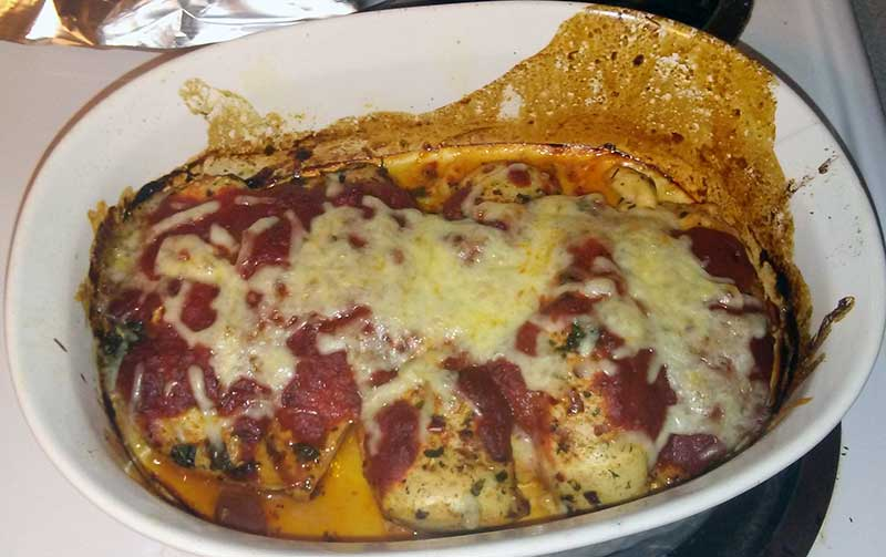 Oven Baked Mozzarella Chicken