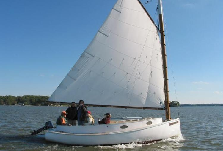1898 20Ft Herbert Crosby Catboat