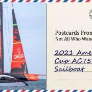2021 America's Cup AC75 Class Sailboat