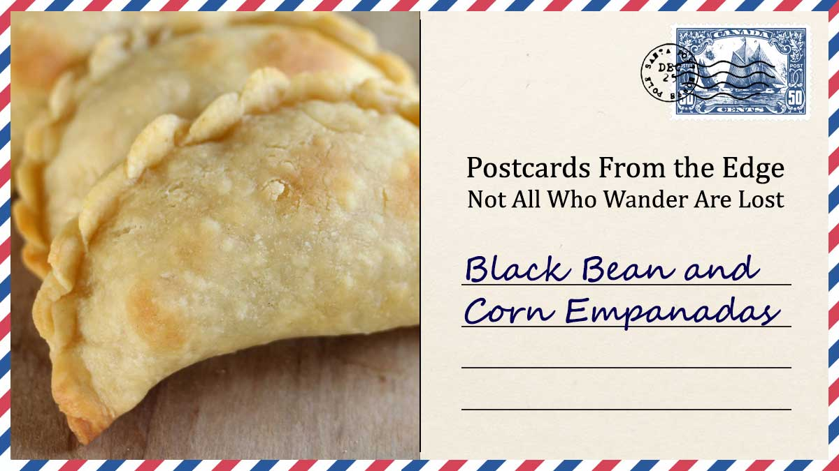 Black Bean and Corn Empanadas
