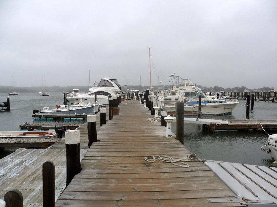 Docks at F.L. Tripp & Sons Marina.