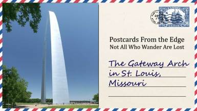 The Gateway Arch in St. Louis, Missouri