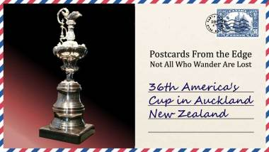 36th America's Cup in Auckland New Zealand