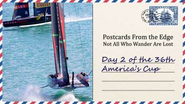 Day 2 of the 36th America's Cup