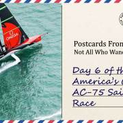 Day 6 of the 36th America's Cup AC-75 Sailboat Race