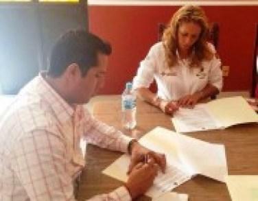 Firma de Convenio INEA Jala
