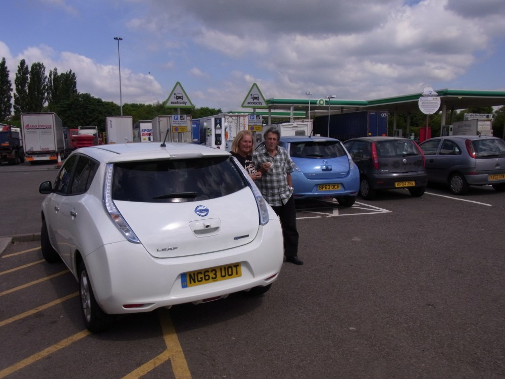 The longest day: 382 electric miles (1/3)