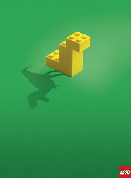 Lego Shadow Dinosaurier Ad