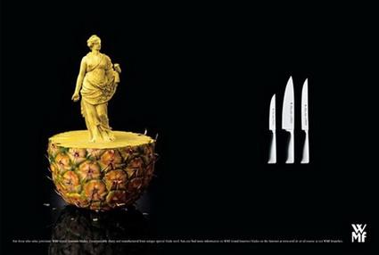 WMF Knife Ad