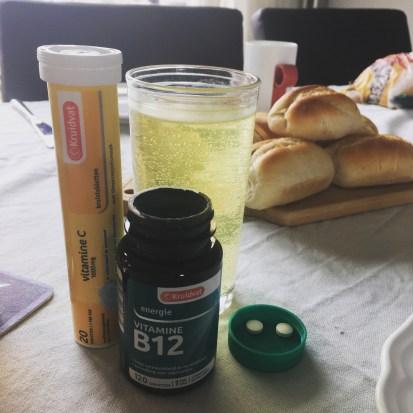 Not another fitgirl, Polar, Fitness test, Revalidatie, Longvliesontsteking, Supplementen, Vitamines