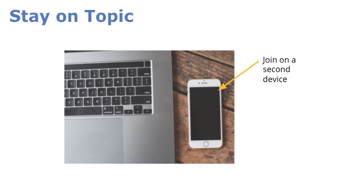 increase engagement with a second device