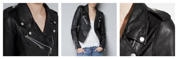 Zara leather jacket, Alice More Than Toast, A/W12 fashion