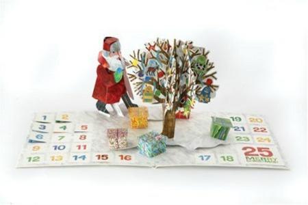 Eric Carle pop-up calendar, chocolate-free advent calendar, non-chocolate advent calendar
