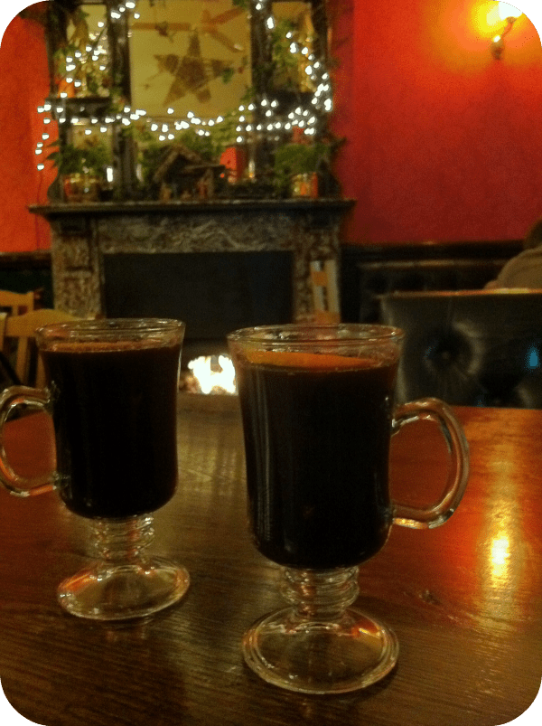 Alyson, That's Not My Age, mulled wine, Christmas