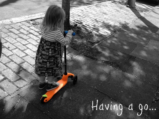 Review of a Mini Micro Scooter
