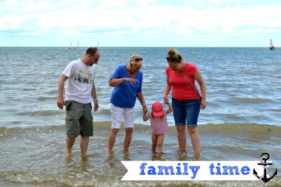 Family fun at Minnis Bay