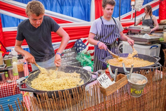 Anna Mae's mac and cheese, Camp Bestival