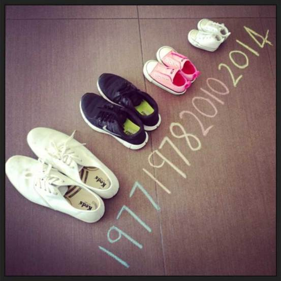 Cute way to announce pregnancy