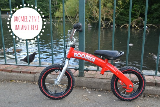 Boomer 2 in 1 Balance Bike review
