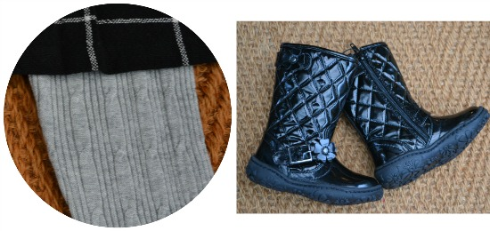 Clothing At Tesco leggings and boots