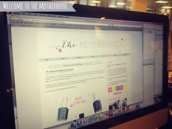 Welcome to The Motherhood blog