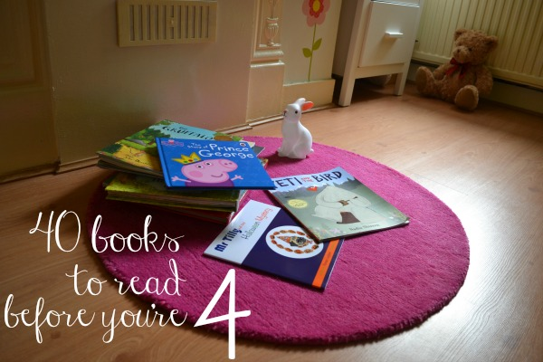 40 books perfect for two or three year olds