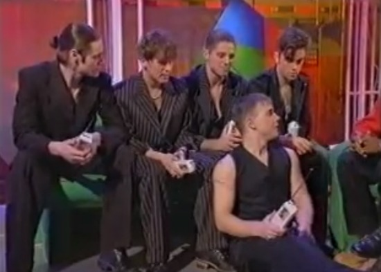 Take That on Live And Kicking, 1994