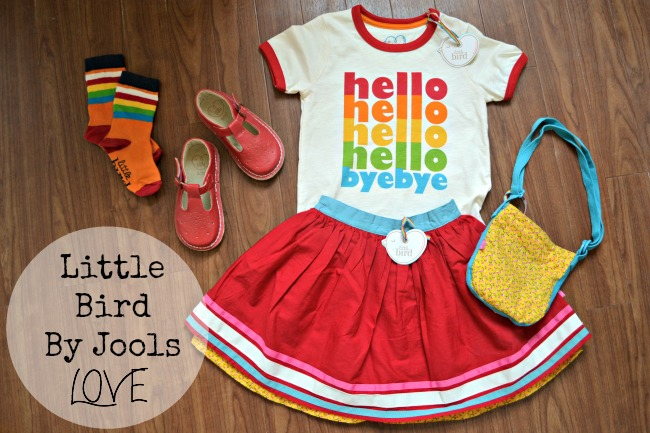 Gorgeous retro kids' clothing from Little Bird by Jools