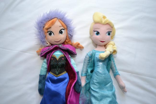 Anna and Elsa dolls