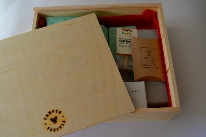 Pamper Parcels box