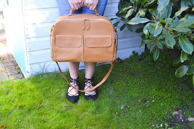 PacaPod Madison Baby Change Diaper Bag review
