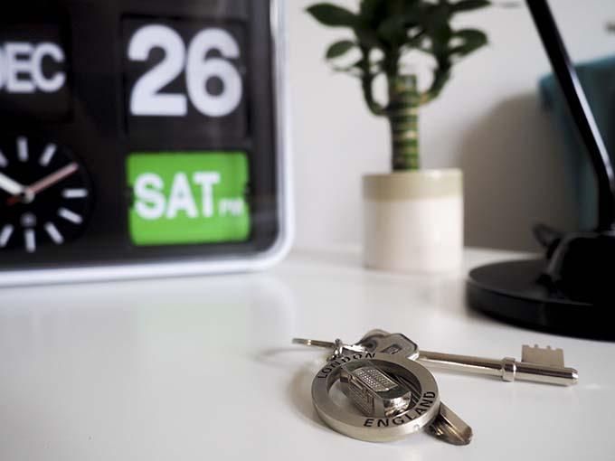 keys-by-clock