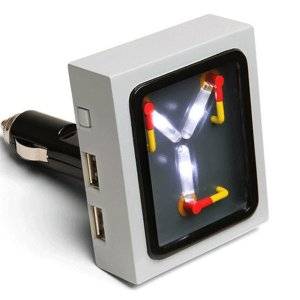 Back to the Future Flux Capacitor USB Car Charger1