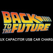 Flux Capacitor USB Car Charger from ThinkGeek