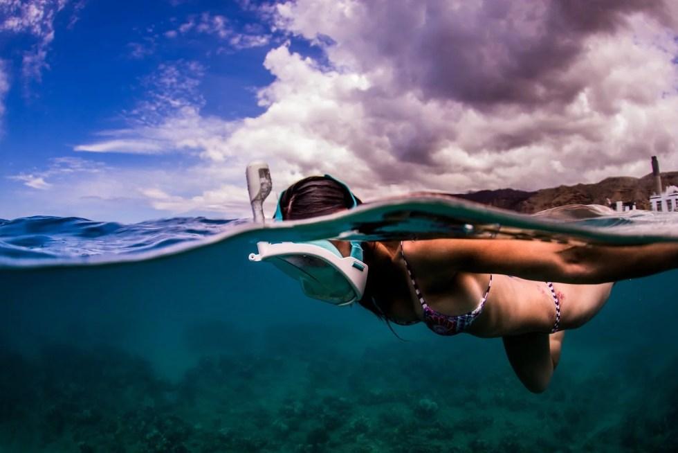 H2O Ninja Snorkel Mask GoPro Edition - 14