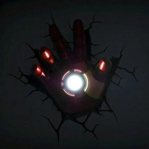 Iron Man Hand 3D Nightlight - 1