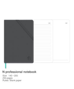 N professional notebook