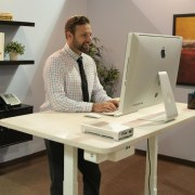 SmartDesk: World\'s First Smart Standing Office That Talks and Listens.