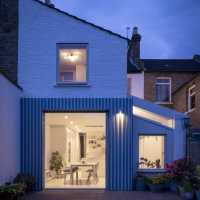 Rear extension to a Victorian terrace house by CAN